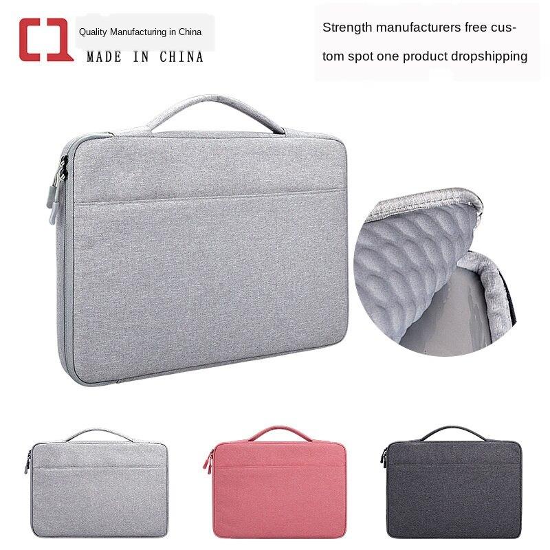 Taşınabilir dizüstü bilgisayar çantası bilgisayar çantası MacBook Huawei Pro astar koruyucu kılıfı için 12345.6 Apple Xiaomi