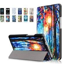 Case For Huawei MediaPad M3 Lite 8 CPN-W09 CPN-L09 CPN-AL00 PU Leather Smart Case for Huawei M3 Lite 8.0 inch Case + Pen цена 2017
