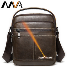 MVA Men's Bags Engraving Fashion Shoulder Bags