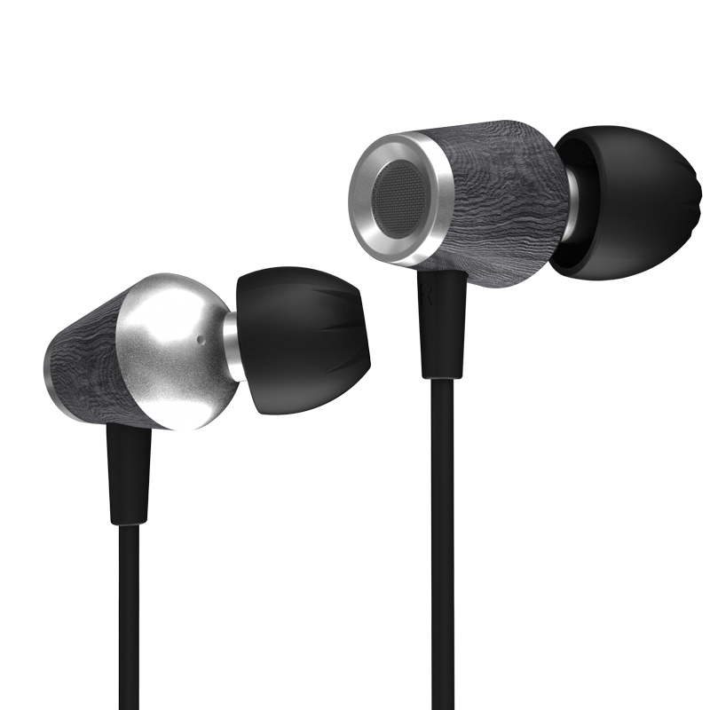 Cca Cst Houten Oortelefoon 10Mm Dual Magnetische Dynamische Driver Hifi Bedrade Headset Bass Iem Zst Zsn Pro AS10 ZS10 edx CA4 C12 C10 C16