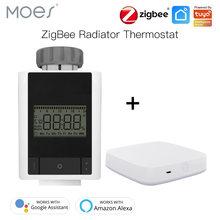 Умный термостатический клапан радиатора tuya zigbee 30 домашний