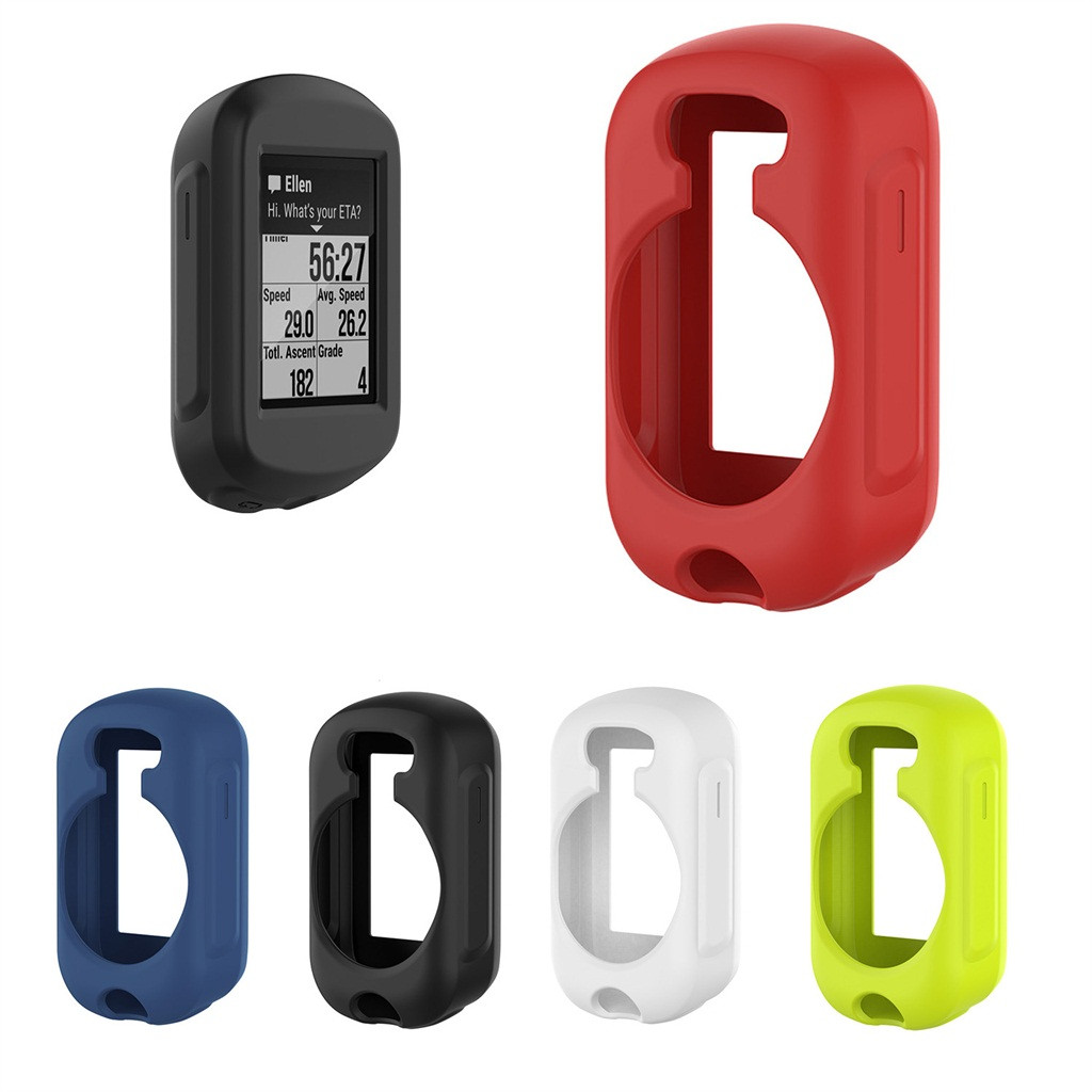CARPRIE Silicone Shell Full Case Cover for Garmin GPS <font><b>Bike</b></font> <font><b>Computer</b></font> for Garmin Edge 130 bicycle <font><b>computer</b></font> Frame Edge 130 image