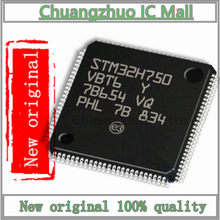 1 Pçs/lote STM32H750VBT6 LQFP-100 STM32H750VBT LQFP100 STM32H750VB STM32H750 Chip IC Novo e original