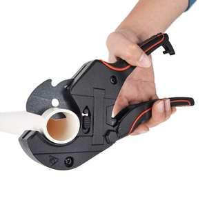 Pipe Cutters Scissors PPR Aluminum-Alloy PVC with 65mn-Steel Blade-Up for 42MM