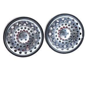 Image 3 - 53 мм 32 Ом Hi Fi драйвер для наушников с металлическим покрытием, 3 полосные сбалансированные прозрачные колонки 120 дБ