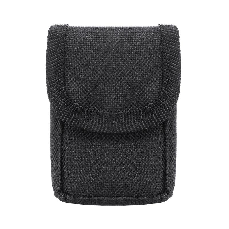 1pc Portable Finger Pulse Oximeter Bag Fabric Nylon Oximeter Pouch Case Durable Storage Pack Protective Bag Black 70*50*30mm