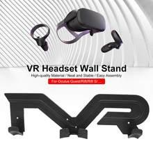 Accessoires pour Oculus Quest 2 VR, support de contrôleur VR, casque, support mural support étagères pour Oculus rift-s HTC Vive Playstation