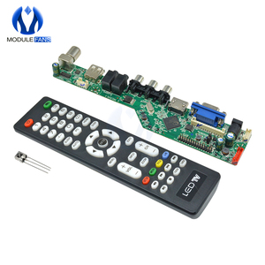 Universal LCD Controller Board Resolution TV Motherboard VGA HDMI AV TV USB HDMI Interface Driver Board Module(China)