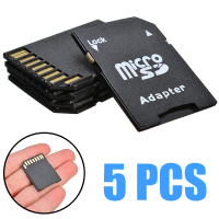 5pcs tf to micro sd microsdhc flash memory card adapter smart phones tablet memory stick for computer internal storages