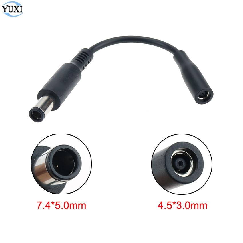 1 шт., адаптер питания постоянного тока YuXi, кабель-переходник 7,4*5,0 до 4,5*3,0 мм мама для ноутбука Dell