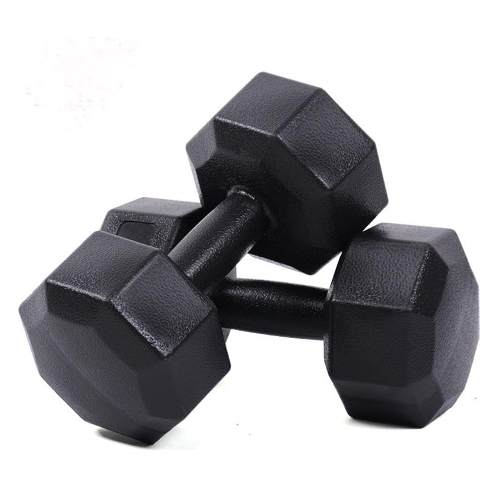 1pcs Dumbbell Barbell Muscle Bodybuilding Strength Training 1.5KG Octagonal Dumbbell Outdoors Body Workout Fitness Equipment