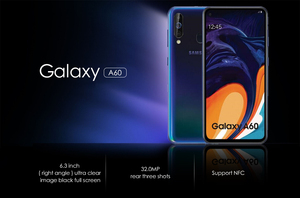 Image 4 - Samsung Galaxy A60 6GB 64G  NFC 6.3 inch Full Scree Snapdragon 675 Octa Core 6GB 3500mAh 32MP Camere Cellphones