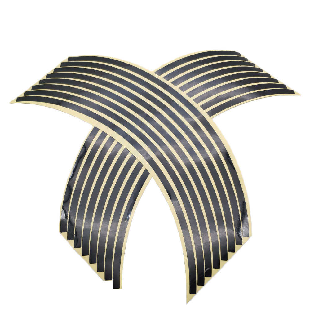 16 Uds. De pegatinas para neumático de coche o motocicleta, cinta reflectante de llanta, pegatinas de coche para Yamaha YZF R15 XT660 xt 660 MT125 MT01
