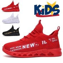 Kid adidasy do biegania letnie dziecięce buty sportowe Tenis Infantil chłopiec kosz obuwie lekka oddychająca dziewczyna Chaussure Enfant tanie tanio KAMUCC 7-12m 13-24m 25-36m 3-6y 7-12y 12 + y CN (pochodzenie) Cztery pory roku Unisex RUBBER Pasuje prawda na wymiar weź swój normalny rozmiar