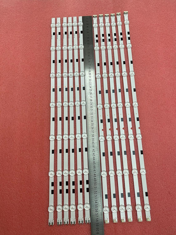 LED Backlight Strip(12) For Samsung UE58H5200 UN58H5200 UE58J5200 2014svs58 Mega 3228 DMGE-580SMA 580SMB-R3 BN96-32771A 32772A