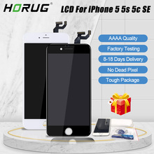 AAAA Original Screen LCD For iPhone 5 5s 5c SE LCD Display Assembly Digitizer No Dead Pixel With Replacement LCD With Tools a no dead pixel for iphone 5 5s 5c 5se lcd display touch screen digitizer assembly black
