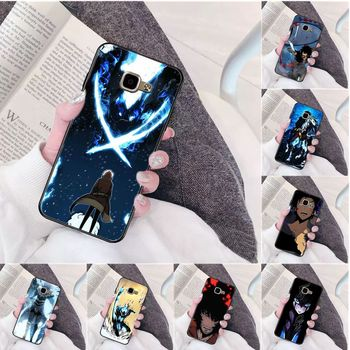 Anime solo leveling High Quality Silicone Phone Case for Samsung a3 a5 a6 a9 a7 a8 a10 a20 a40 a70 case image