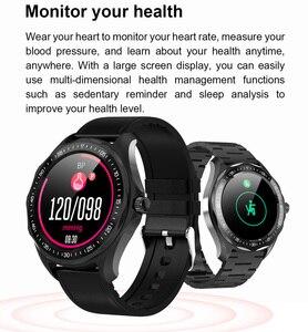 Image 2 - S09 akıllı saat IP68 su geçirmez erkek nabız monitörü kan basıncı spor izci GPS harita Android iOS için Smartwatch