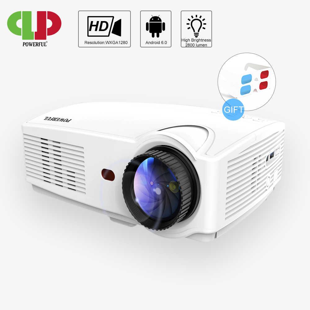 Powerful SV 328 LED HD Projector 3000 Lumens Beamer Video