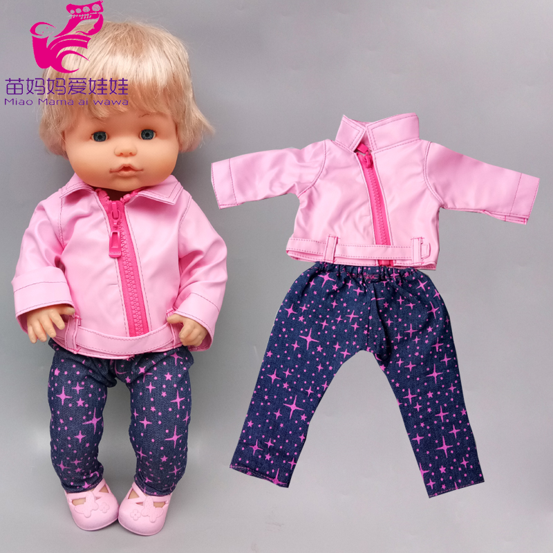 40 Cm Baby Doll Jacket For 42cm Nenuco Ropa Y Su Hermanita Doll Clothes Children Toys Gifts