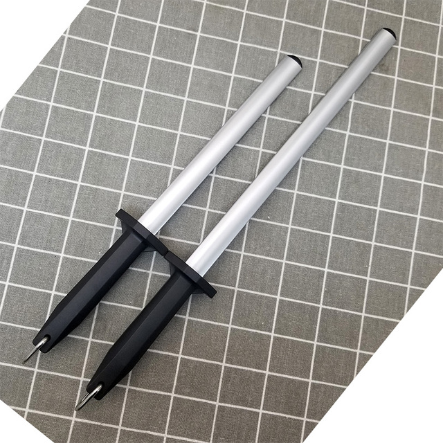 1 pièces acier au carbone aiguiseur de couteau professionnel affûtage tige affûtage couteaux tige musat affûteurs meule cuisine
