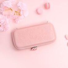 Geekshare-Bolsa de almacenamiento portátil Sakura para Nintendo Switch Lite, Estuche de transporte de viaje, accesorios para juegos