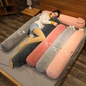 160 см новый мультфильм животных, собака, кошка, кролик, слон, плюшевые игрушки, длинная подушка для сна, мягкая кукла, подушка для кровати, под...