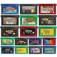 32 Bit Video Game Cartridge Console Card Poke Series Liquid Crystal US Version For Nintendo GBA