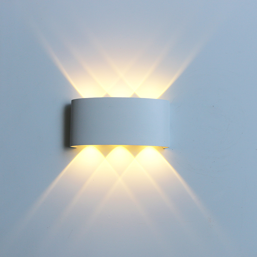 Led Wall Lamp Aluminum Outdoor IP65 Waterproof Up Down Wall Light For Home Stair Bedroom Bedside Bathroom Corridor Lighting RF18 3