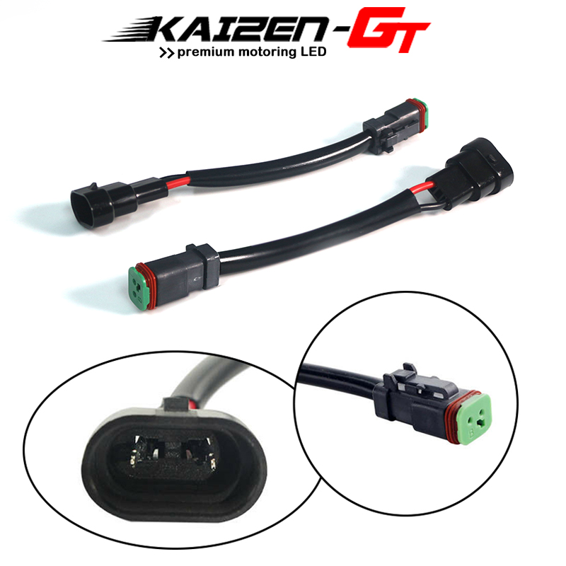 [DIAGRAM_38EU]  Kaizen GT Heavy Duty Wiring Harness Convert H10/9145/9006 To Deutsch DT DTP  Adapter Connectors For LED Fog Lights,LED Pod lights|Base| - AliExpress | Deutsch Wiring Harness |  | www.aliexpress.com