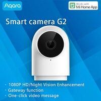 Aqara Smart Camera G2 1080P Gateway Hub Edition IP Webcam camera WiFi Connect other Zigbee devic Work with Xiaomi Mi Home App