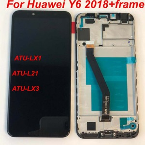 Image 3 - מקורי 5.7 עבור Huawei Y6 2018 Y6 ראש 2018 ATU LX1 / ATU L21 ATU L31 LCD תצוגה + מסך מגע Digitizer עצרת + מסגרת
