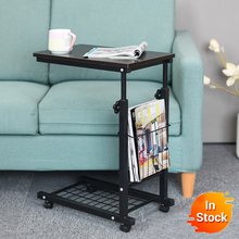 Delivery  normal Home computer desk Storage Holders Multipurpose table  table modern coffee tables sofa   Adjustable desk