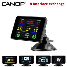 Eanop Hud P16 5.8 Tft Obd Mini Hud Head Up Display Digitale Lcd Auto Snelheidsmeter Voorruit Projetor(China)