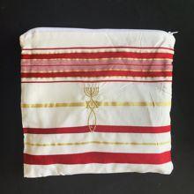Yahudi Tallit bordo ve altın namaz şal Tallit ve Talis çanta namaz atkı Tallits