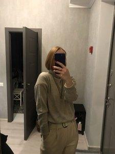 Image 2 - BELIARST סתיו וחורף חדש קשמיר סוודר נשים של סוודר צווארון גבוהים רופף עבה סוודר קצר סעיף לסרוג חולצה