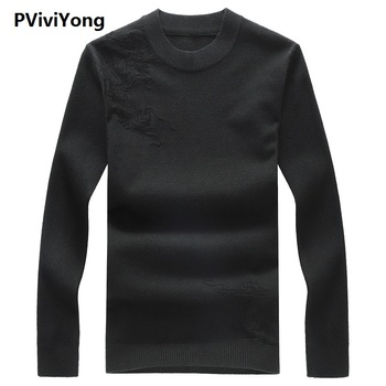 PVIVIYONG 2019 new arrival autumn high quality sweater men,men's casual pullovers 1988