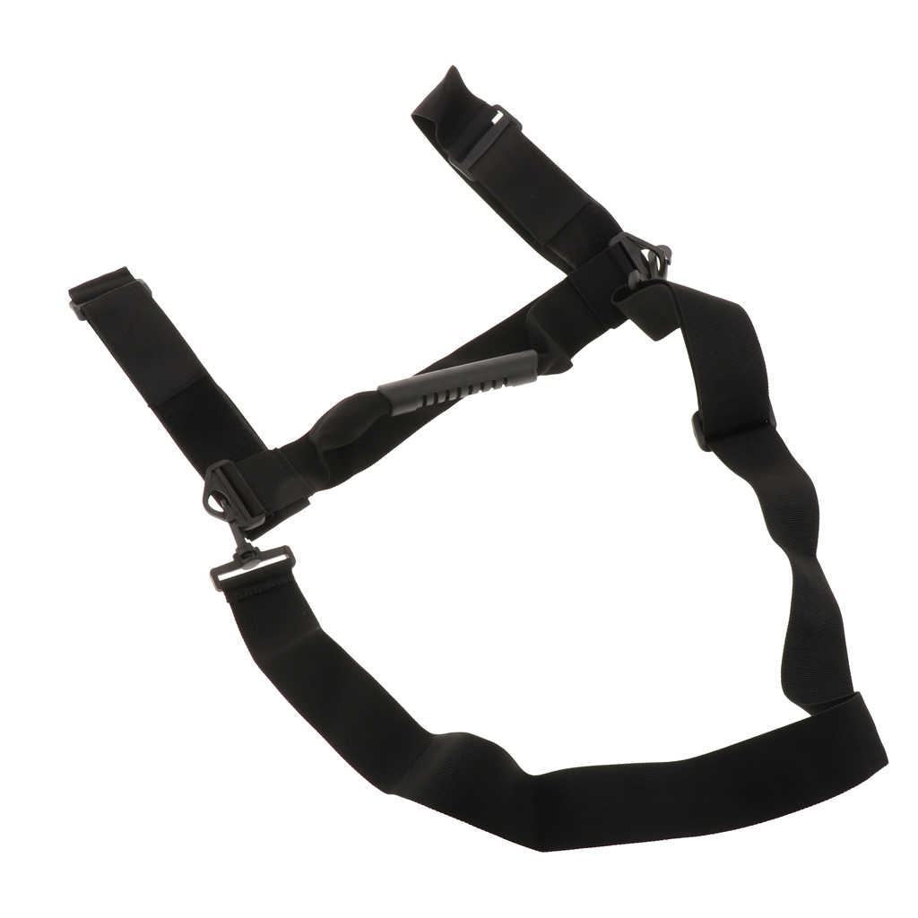 الغوص قابل للتعديل خزان الهواء اسطوانة الناقل الكتف حزام مع دائم عقد مقبض