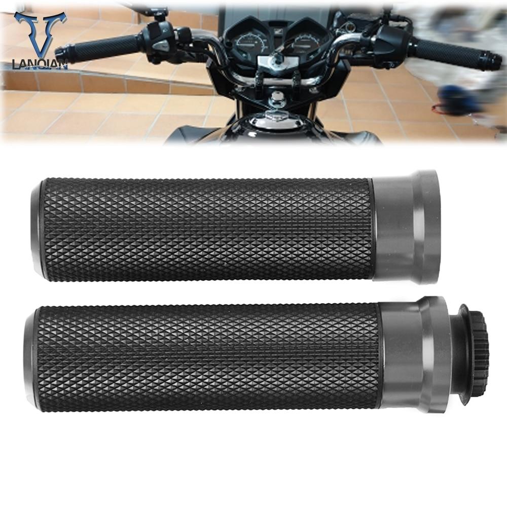 Motorcycle Accessory Poignee Moto Aluminum Hand Grip Aluminum Plastic For Gsr 600 Honda Pcx 125 Gsr 750 Suzuki Burgman 400