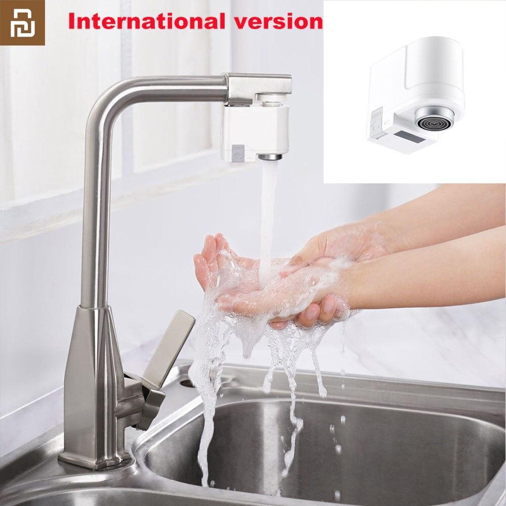 Protecci/ón impermeable contra desbordamiento de agua Dispositivo de ahorro de agua por inducci/ón infrarroja ZAJIA IPX6