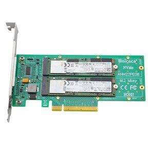 Image 4 - ANM22PE08 NVMe denetleyici PCIe M.2 Dualport ile headsink (ssd)