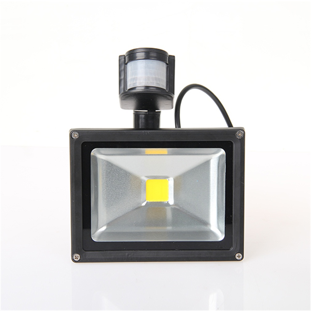 <font><b>20W</b></font> <font><b>LED</b></font> Security <font><b>Floodlight</b></font> PIR Sensor Motion Outside Flood Lights IP65 High Luminous Efficiency image