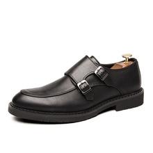 Мужская повседневная обувь; коллекция года; осенние лоферы; мужские удобные мокасины; Мужская Брендовая обувь для вождения; новая обувь для ленивых; Цвет Черный; DH18602