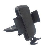 Montagem do telefone do carro cd slot titular do telefone universal cd montagem do telefone celular titular para o carro com clipe de bloqueio automático para iphone x xiaomi