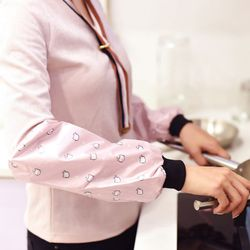 Wodoodporne prace domowe Oversleeve dla pracujących dorosłych pokrycie elastyczne gospodarstwa domowego studenci rękaw zaprojektowane sprzątanie kuchni w Zarękawki od Dom i ogród na