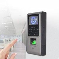 Vingerafdruk Toegangscontrole Tcp/Ip Communicatie 2.4 Inch Kleurenscherm 2000 Pcs Vinger/Card Ondersteuning Rfid Id-kaart 125 K  sn: F6