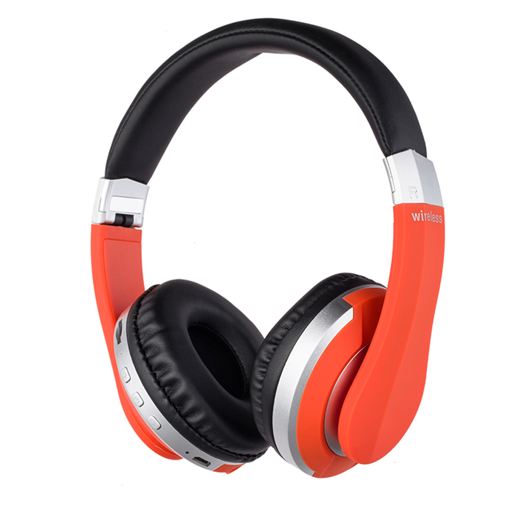 Wireless Headphones Bluetooth Headset Foldable Stereo <font><b>Gaming</b></font> <font><b>Earphones</b></font> <font><b>with</b></font> <font><b>Microphone</b></font> Support TF Card For IPad Phone image