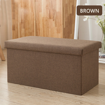 25/47L Multi-function Storage Box Sofa Comfortable Chair Sofa StoolS Ottomans Pouf Storage Poef Foot Stool 6 Colors Furniture