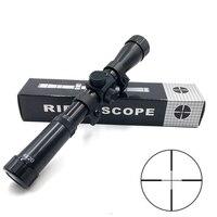 short 4x20 Hunting Riflescopes Holographic Sight Optics Guns Shooting Scopes Sniper Reticle Pistol Reflex Sight Accessories