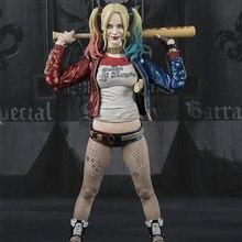 Harley quinn figura de ação esquadrão suicida colecionáveis brinquedos